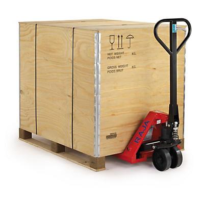 Caisse-palette en bois contreplaqué RAJA##Sperrholz Paletten-Container RAJA