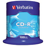 Spindle 100 CD-R Extra Protection 700 Mo Verbatim 52x