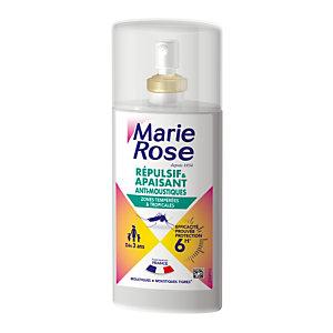 Spray anti-moustiques apaisant 2 en 1 Marie Rose, 2 sprays de 100 ml