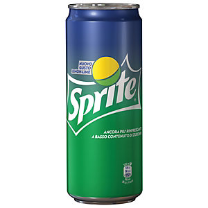 Sprite Lattina da 33 cl. (confezione 24 lattine)