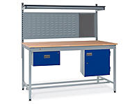 Square tube workbench kits