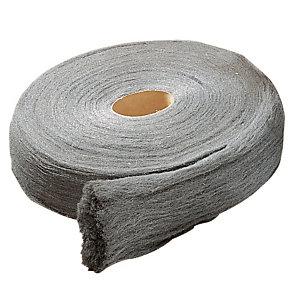 Staalwol voor delicaat schuren rol van 1 kg