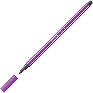 STABILO 68, Rotulador de punta de fibra, punta mediana, cuerpo de polipropileno, tinta lila