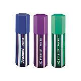 STABILO Big pen Box 68, Rotuladores de punta de fibra con portatodo, punta mediana, cuerpo de polipropileno en colores surtidos, 20 colores surtidos