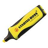 STABILO Boss Executive Marcador fluorescente, punta biselada, 2-5 mm, Amarillo