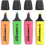 Stabilo Boss Highlighter fluorescent pens