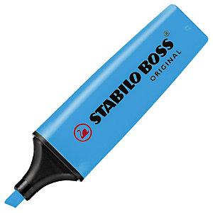 STABILO Boss Original Marcador fluorescente, punta biselada, 2-5 mm, Azul