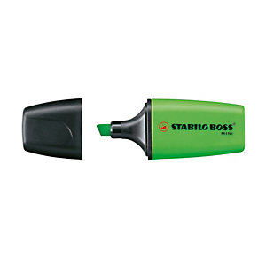 STABILO Evidenziatore Boss Mini - punta a scalpello - tratto 2 - 5 mm - verde 33 - Stabilo