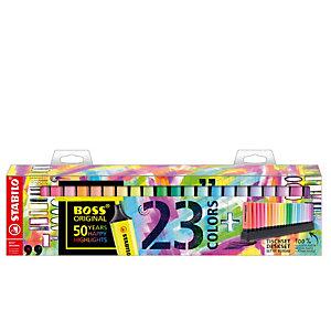 STABILO Evidenziatori Boss Original - colori assortiti fluo + pastel - Stabilo - deskset 23 pezzi