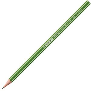 STABILO GreenGraph 6003 Matita in grafite, Mina HB, Fusto esagonale verde (confezione 12 pezzi)
