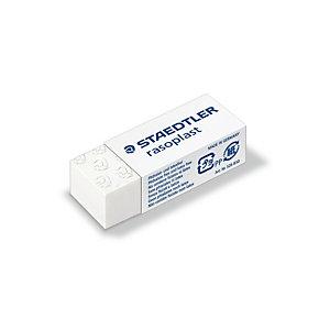 STAEDTLER Gomma Rasoplast - 43x19x13mm - bianca per matita - Staedtler - box 30 gomme