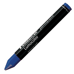 STAEDTLER Lumocolor Permanent Omnigraph 236 universal cera azul paquete de 12