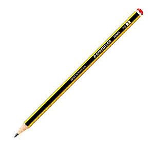Staedtler Noris Crayon de papier mine HB corps hexagonal jaune et noir