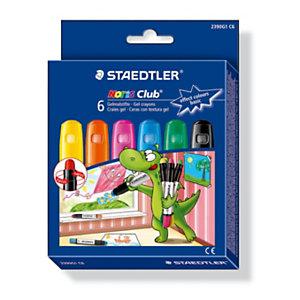 Staedtler Noris Effect colours Ceras textura gel, colores surtidos brillantes