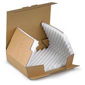 Stansade lådor med skuminlägg - Brevporto