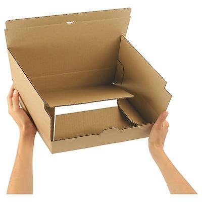 Stansade lådor med snabbotten - A4-format