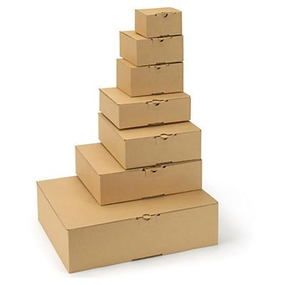 Stansade lådor med snabbotten - A5-, A6- och A7-format