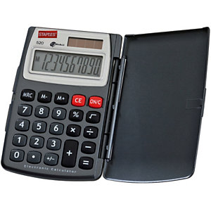 Staples 520 calculadora de bolsillo