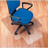 Staples Alfombra protectora PVC / suelo duro / lengüeta / 115 x 134 cm