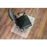Staples Alfombrilla protectora para sillas, rectangular, 1200 mm x 1500 mm, suelos duros, policarbonato 100% reciclable, transparente