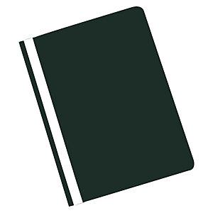 Staples Archivador de informes, capacidad para 30 hojas, polipropileno, A4, negro