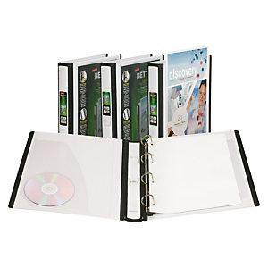 Staples BETTER™ Carpeta personalizable de anillas tipo D, A4, ancho del lomo de 40 mm, capacidad para 275 hojas, polipropileno, blanco