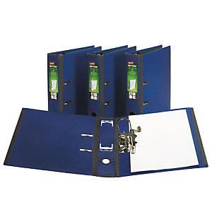 Staples BETTER™ Registratore archivio, A4, Dorso 75 mm, Capacità 560 fogli, Polipropilene, Blu