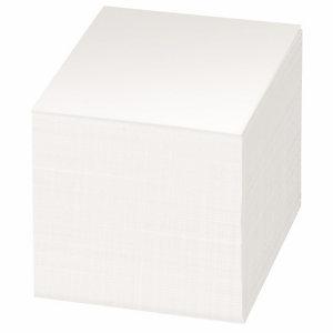 Staples Bloc mémo blanc 90 x 90 mm - 800 feuilles