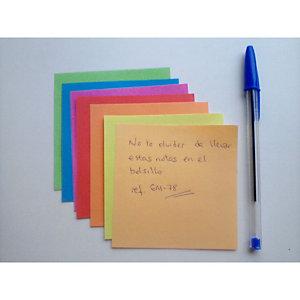 Staples Bloc mémo couleur 90 x 90 mm - 800 feuilles
