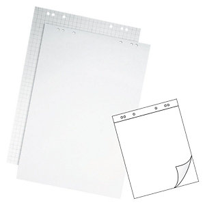 Staples Bloc de papel blanco para caballete