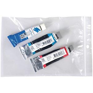 Staples Buste richiudibili in polietilene Trasparenti 160 x 220 mm Confezione da 100