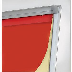 Staples Caballete rotafolios, superficie lacada magnética de borrado en seco, 70 x 92 cm, blanco