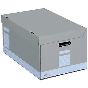 Staples Caisse archives Premium - L.54 x P.36 x H.26 cm - Gris