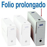 Staples Caja Archivo Definitivo Cartón Folio Prolongado, Tapa fija, Blanco, 383 x 115 x 275 mm
