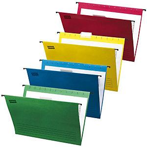 Staples Carpeta colgante Pack A4 Color