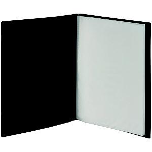 Staples Carpeta de fundas A4, 20 fundas, lomo personalizable, negro