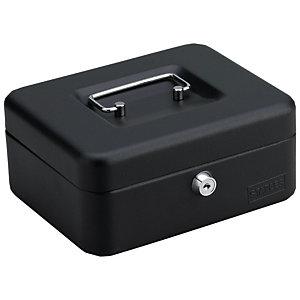 Staples Cassetta portavalori, 200 x 160 x 88 mm, Nero<BR>