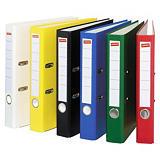 Staples Color Archivador de palanca, Folio, Lomo 50 mm, Capacidad 350 hojas, Cartón recubierto de polipropileno, Colores surtidos