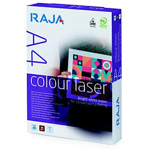 Staples Colour Laser Carta per Stampanti Laser A4  90 g/m², Bianco (risma 500 fogli)