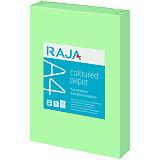 Staples Coloured paper Carta Colorata A4 per Fax, Fotocopiatrici, Stampanti Laser e Inkjet, 80 g/m², Verde chiaro (risma 500 fogli)