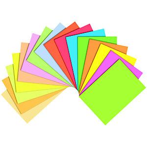 Staples Coloured Paper Papel de Colores para Faxes, Fotocopiadoras, Impresoras Láser e Impresoras de Inyección de Tinta Amarillo Intenso A4 80 g/m²
