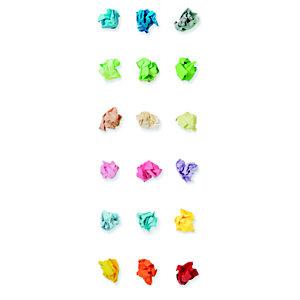 Staples Coloured Paper Papel de Colores para Faxes, Fotocopiadoras, Impresoras Láser e Impresoras de Inyección de Tinta Rojo Intenso A4 80 g/m²