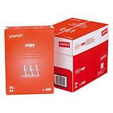 Staples Copy Papel para Faxes, Fotocopiadoras, Impresoras Láser e Impresoras de Inyección de Tinta Blanco A4 80 g/m²