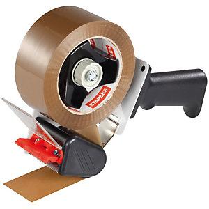 Staples Dispensador de cinta de embalaje con empuñadura de pistola 246x146x 70mm gris y negro