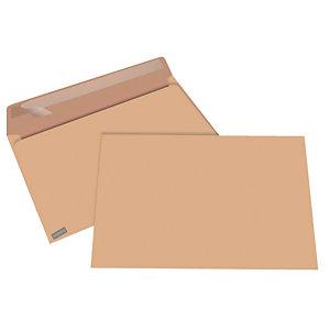 Staples Enveloppe kraft blond Premium C4 229 x 324 mm 90g sans fenêtre  ouverture grand côté - bande autoadhésive