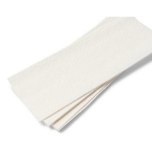 Staples Essuie-mains double épaisseur pliage enchevêtré (en V) - Carton 15 paquets 210 feuilles