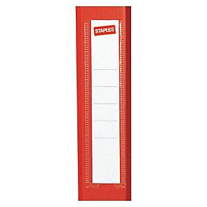 Staples Etiqueta lomera para archivador - lomo estrecho