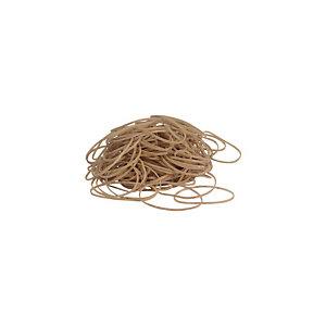 Staples Gomas elásticas, 120 x 1,5 mm, 1000 g, marrón