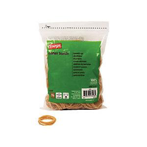 Staples Gomas elásticas, 40 x 1,5 mm, 100 g, marrón