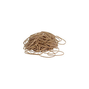 Staples Gomas elásticas, 80 x 1,5 mm, 1000 g, marrón